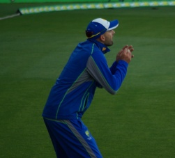 Nathan Lyon - Australian spin bowler.
