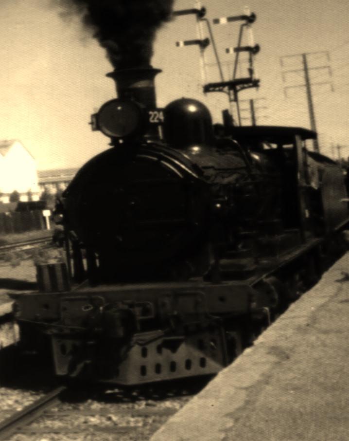SAR RX class locomotive at Glanville,