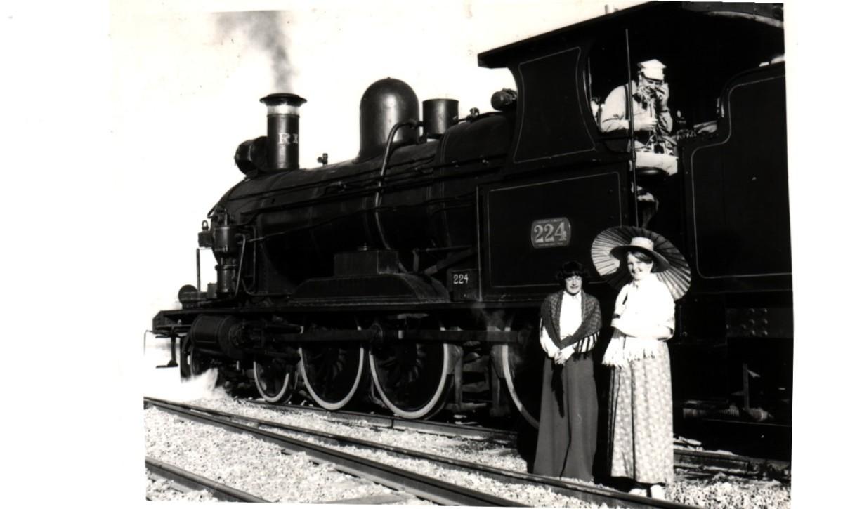 Cee's Black & White Photo Challenge: Tracks andTrains