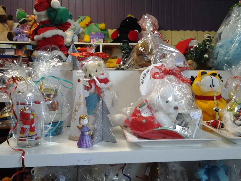 Christmas Gifts at the Op Shop