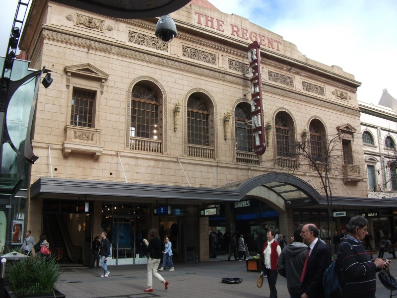 Exterior of the Regent Arcade off Rundle Mall