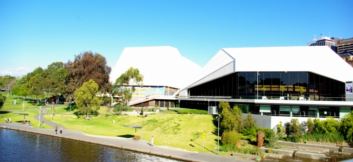 The Festival Theatre complex is three theatres, Concert Hall, The Playhouse and The Space. .