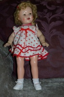 Compostiion Shirley Temple doll c 1935