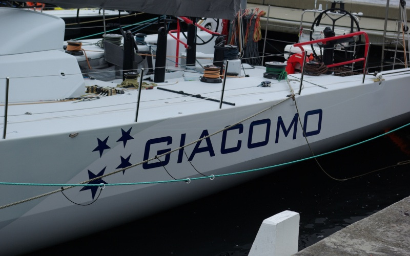 Overall race winner Giacomo