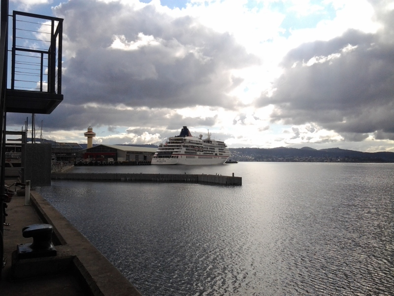 Europa in Hobart February 2016