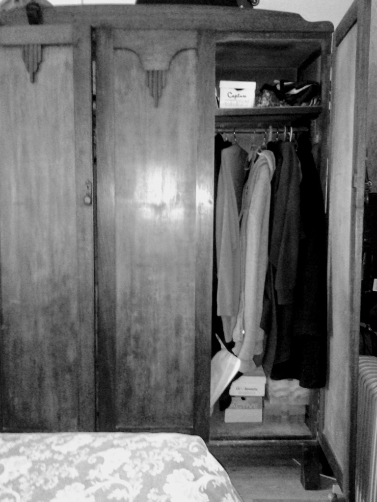 My old wardrobe.