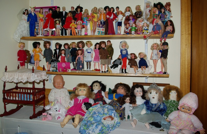 My doll collection would be much smaller without eBay