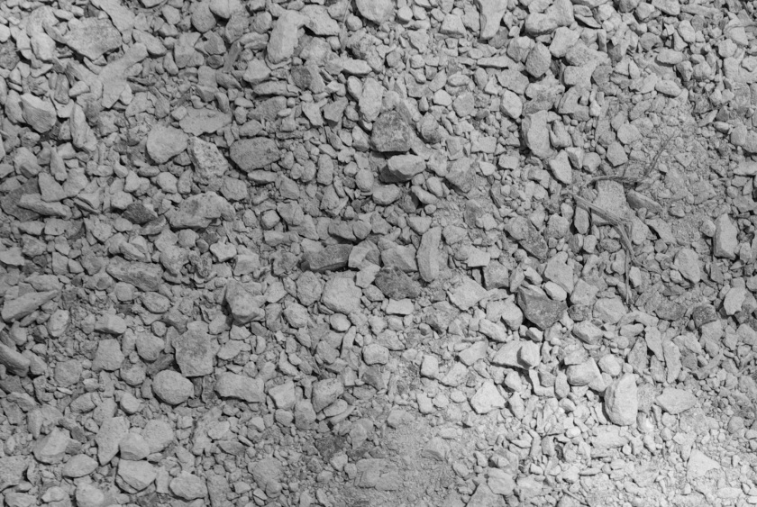 Limestone dust surface under my pergola.