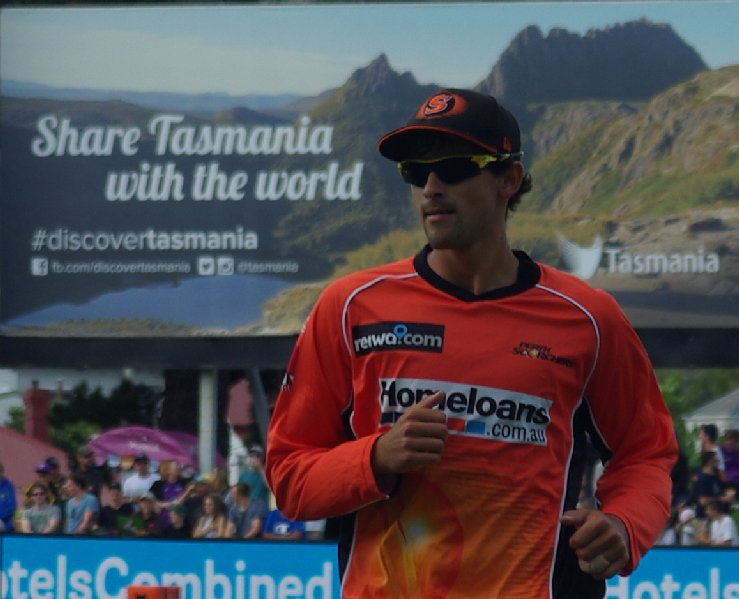 Perth Scorchers player Ashton Agar