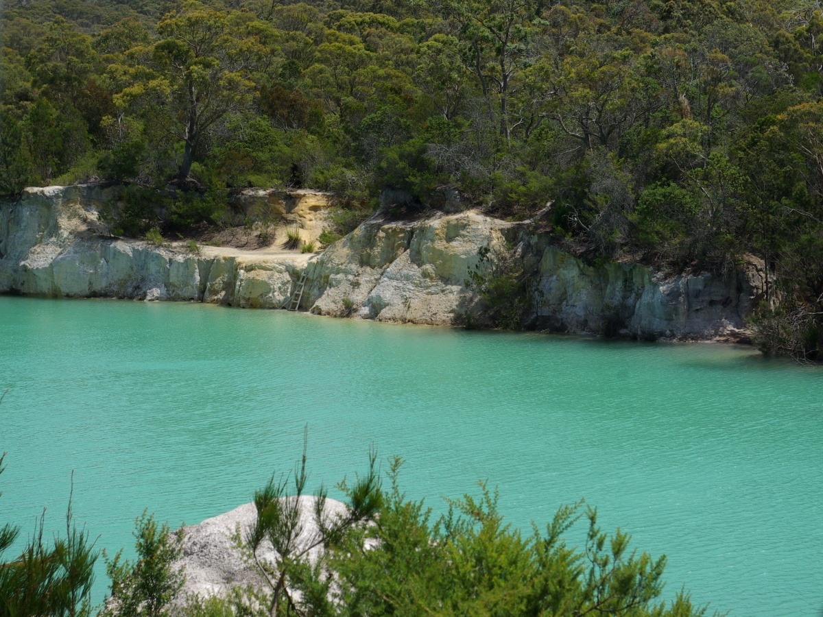 Little Blue Lake, Tasmania