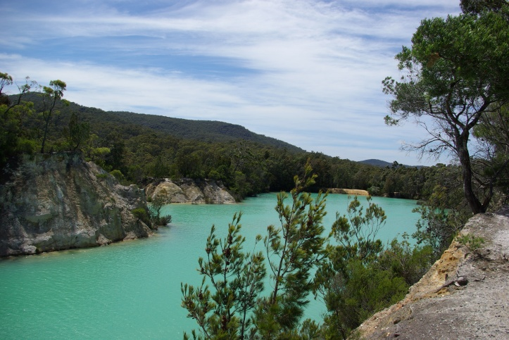 Little Blue Lake Tasmania