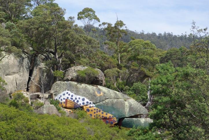 Fish Rock Ringarooma River Tasmania