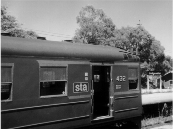 South Australian railways 400 class railcar.