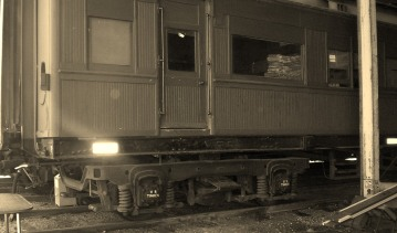 V&SAR Sleeping Car,Seymour