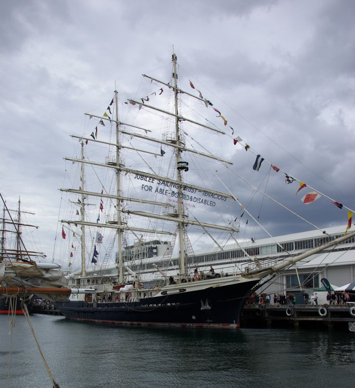British Sail Training Ship Tenacious