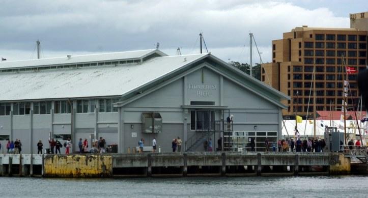 Elizabeth St Pier Hobart