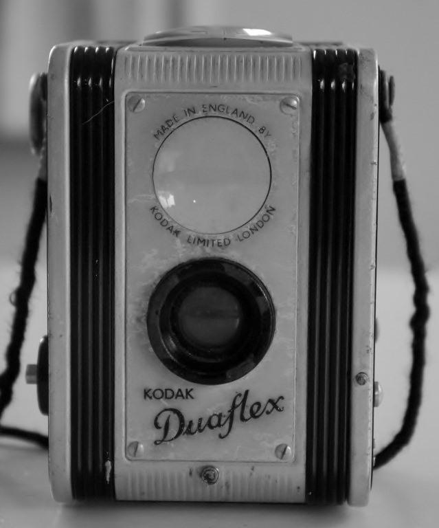 Duraflex twin lens camera