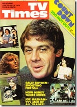 """Ian """"Molly"""" Meldrum from ABC's """"Countdown"""" music show."""