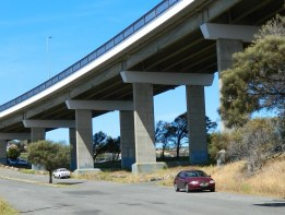 Under the Tasman Bridge