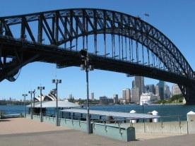 Sydney Harbour Bridge from Luna park 2016