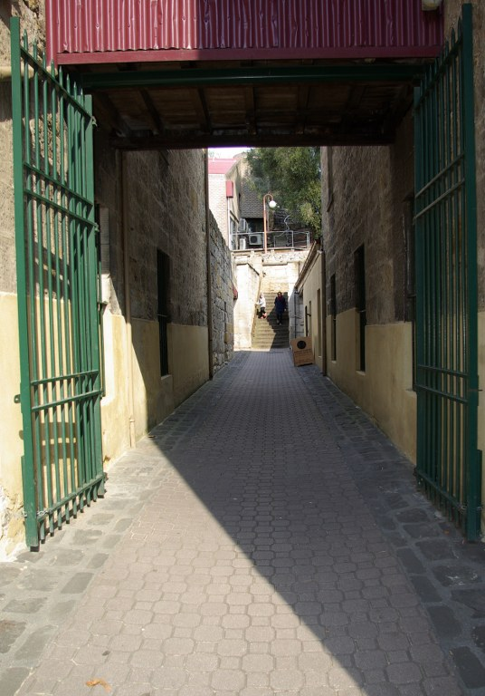 The laneway leading to Kelly's Steps., Salamanica