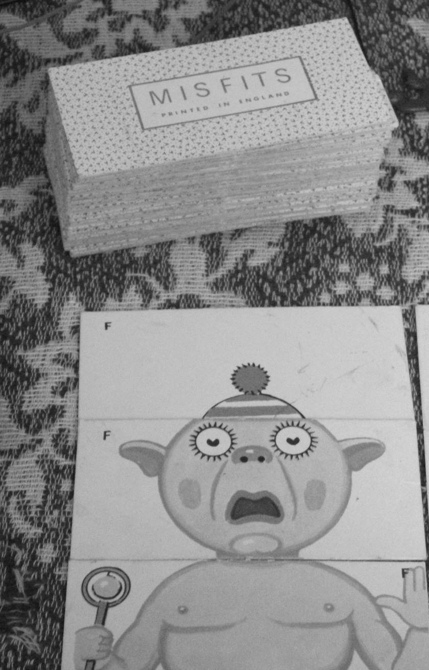 Vintage Misfits card game.