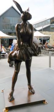 Sculpture in Salamanca Square.