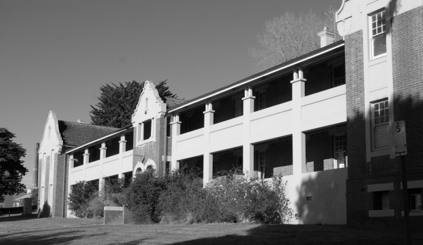 The old Lunatic Asylum, Sunbury , Victoria