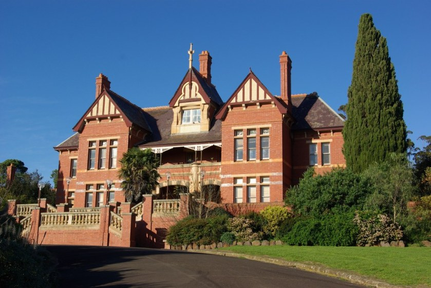 The former Lunatic Asylum at Sunbury near Melbourne , Victoria.