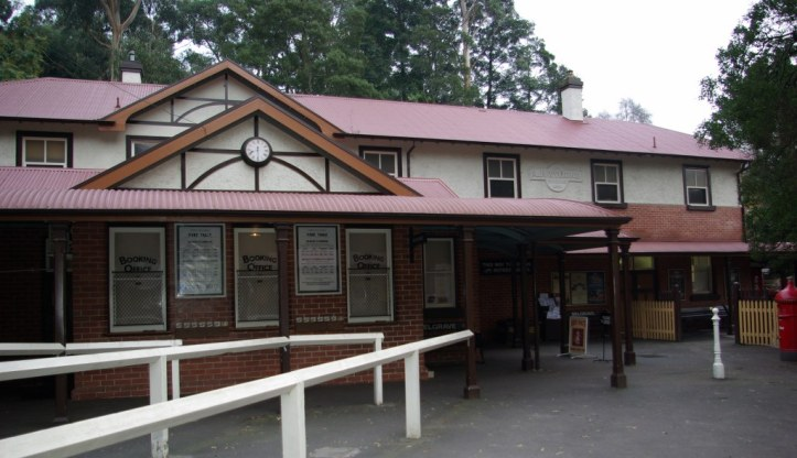 Belgrave Station Puffing Billy