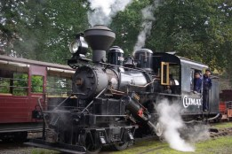 Climax Locomotive on Puffing Billy Railway