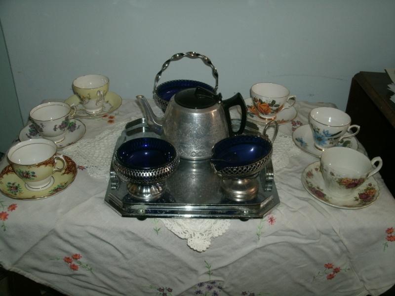 More vintage tea cups