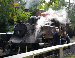 NA 8A at the water tank at Gembrook