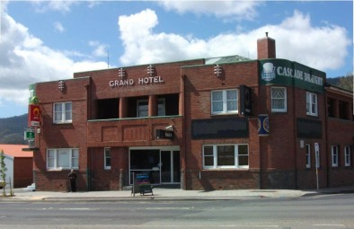 The Grand Hotel in Huonville