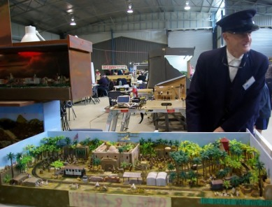 A model railway based on WW1