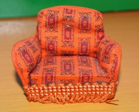 upholstered chair by Barton 1950s