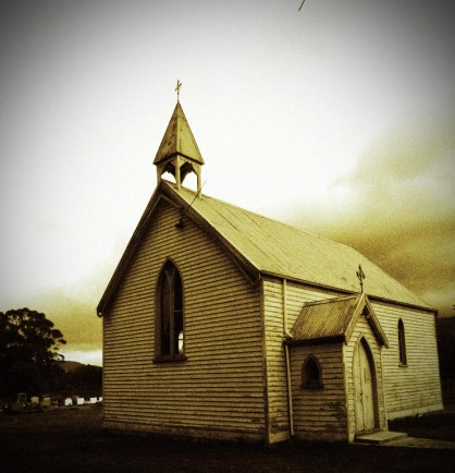 Old Catholic Church at Ranelagh, Tasmania