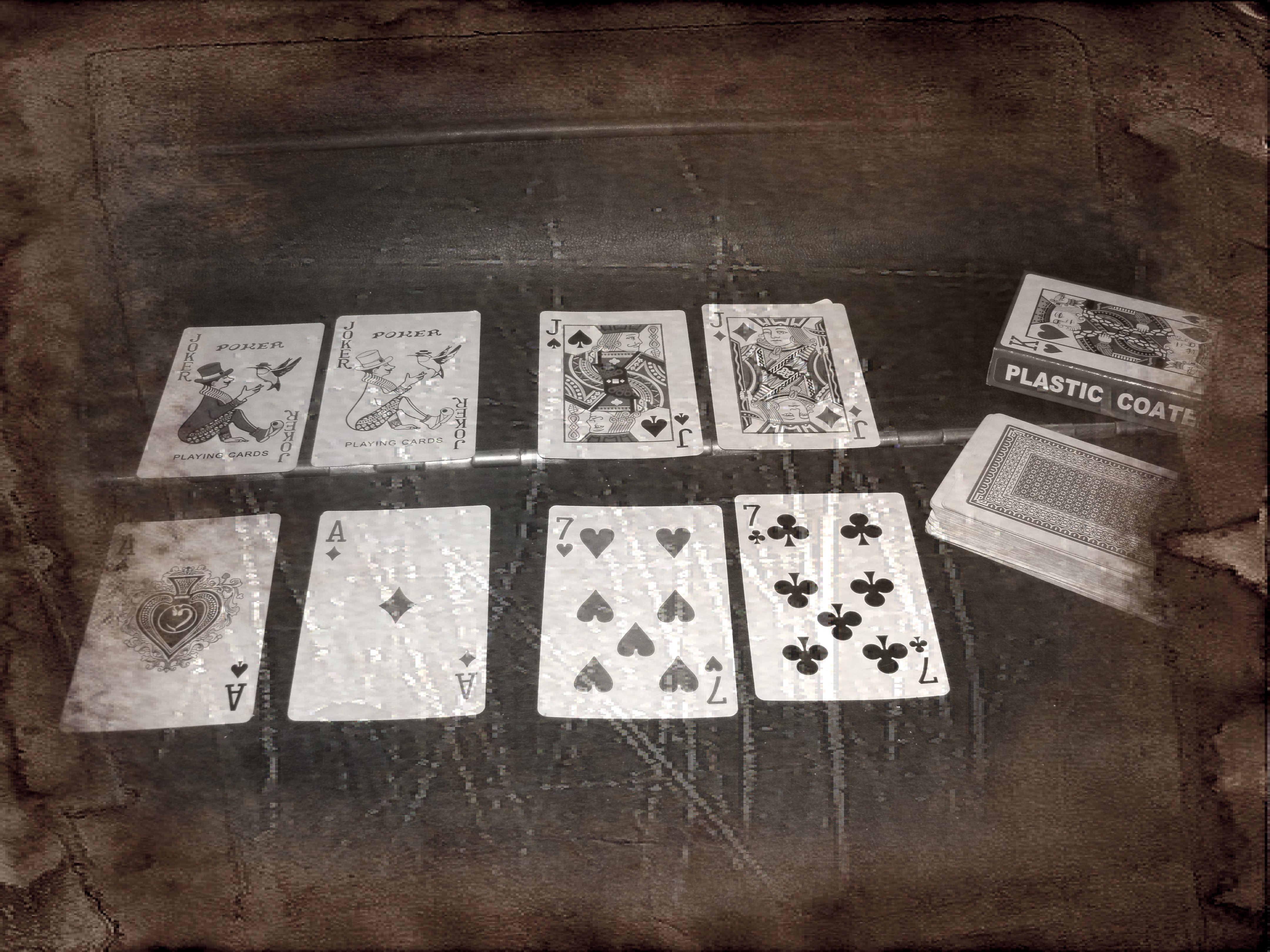 Pairs of Playing Cards
