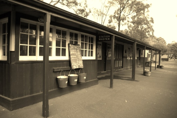 Belgrave Station, Puffing Billy Railway , Victoria