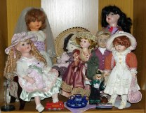 Some of my fancier dolls