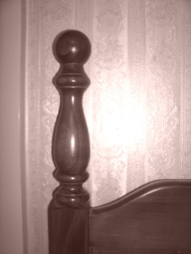 Wooden Bed Post