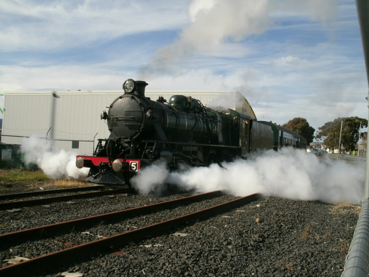 Thursday Photo: M Class Steam Locomotive