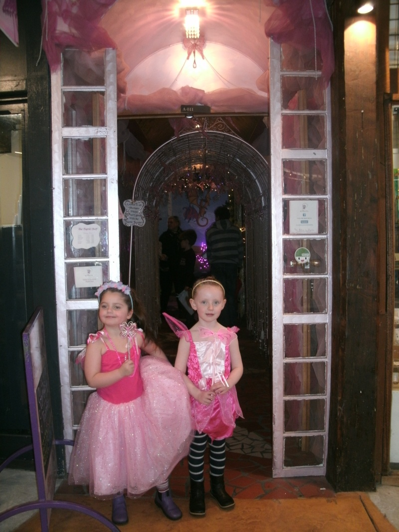 Little Girls Dressed as Fairies