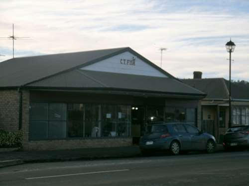 This is a vacant shop in Oatlands that will be used as the real estate business in Rosehaven
