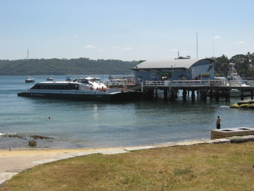 Rivercat ferry at Rose Bay, Sydney 2012