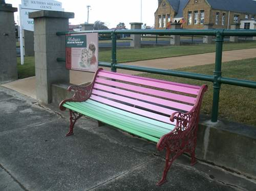 Rosehaven bench