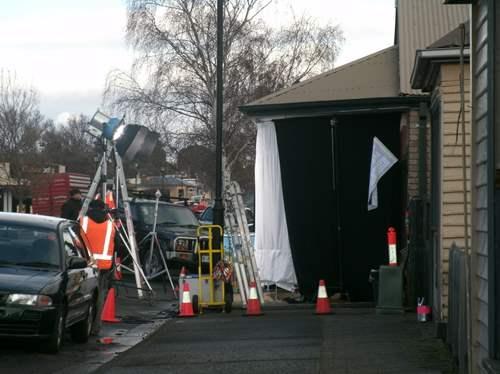 Rosehaven outside the set 2