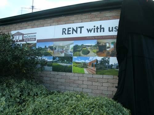 Rosehaven real estate sign