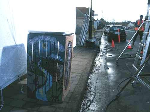 Rosehaven rubbish bin