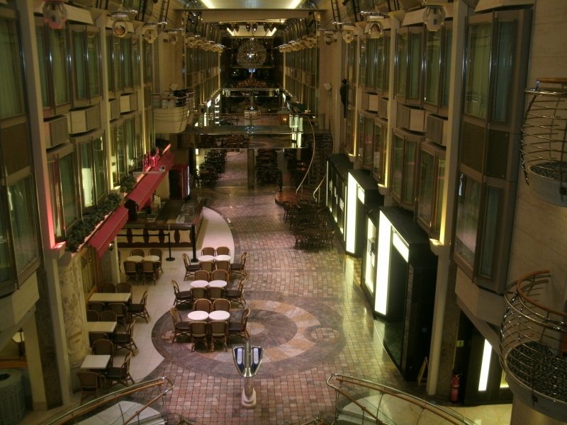 Shopping Arcade on Explorer of the Seas
